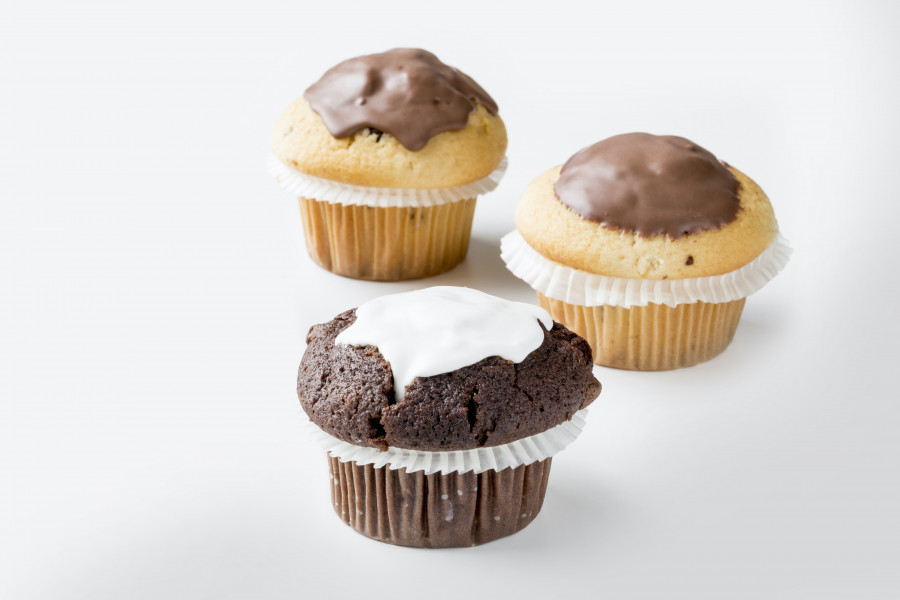 Topped muffins